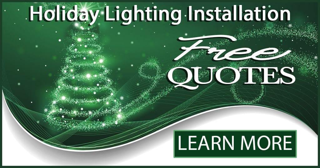 Christmas lights installed NWA